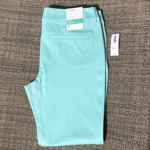 Old Navy Pixie Ankle Length Pants Mint Green NWT